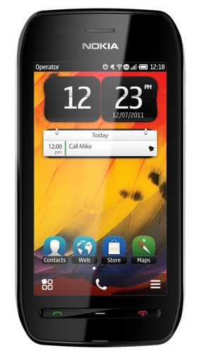 Nokia 603 Symbian Phone with IPS Display and NFC black