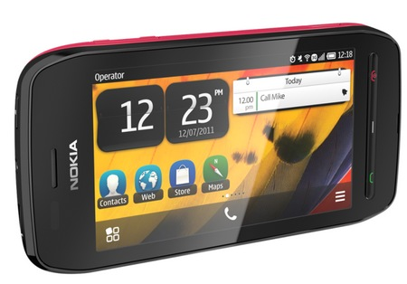 Nokia 603 Symbian Phone with IPS Display and NFC pink