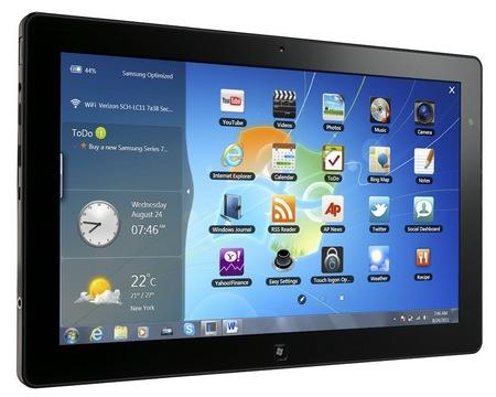 Samsung Series 7 Slate PCs 1