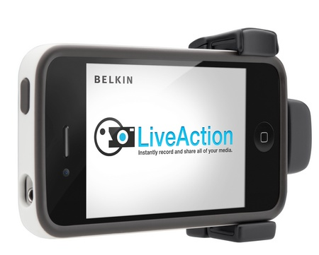 Belkin LiveAction Camera Grip iphone ipod touch