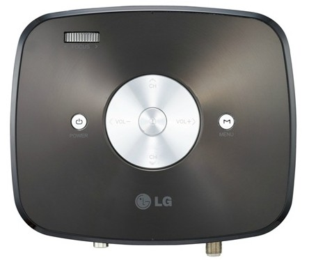LG HX350T Portable Projector with integrated Digital TV Tuner top
