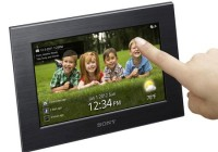 Sony S-Frame DPF-W700 and DPF-WA700 WiFi Digital Photo Frames touch