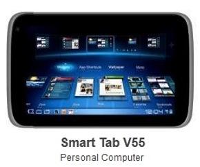 ZTE Smart Tab V55 Pictured