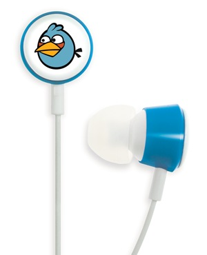 Gear4 Angry Birds Tweeters - the Official Angry Birds Headphones blue bird