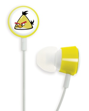 Gear4 Angry Birds Tweeters - the Official Angry Birds Headphones yellow bird