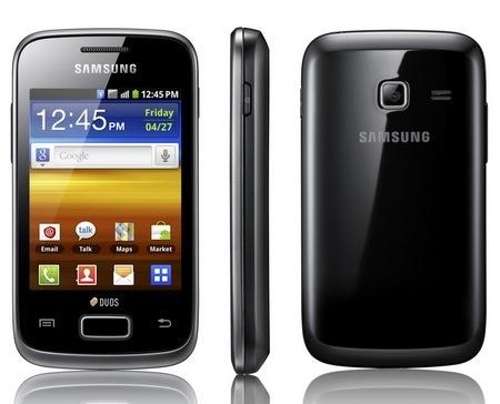 Samsung Dual Sim Phone Models Samsung Galaxy y Duos Dual Sim