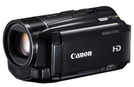Canon VIXIA HF M52, VIXIA HF M50 and VIXIA HF M500 Full HD Camcorders