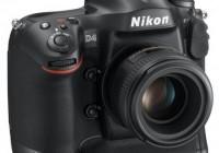 Nikon D4 Digital SLR angle