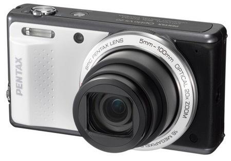 Pentax Optio VS20 Digital Camera with Vertical Shutter Button 2