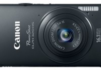 Canon PowerShot ELPH 320 HS Digital Camera black