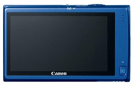 Canon PowerShot ELPH 320 HS Digital Camera blue back