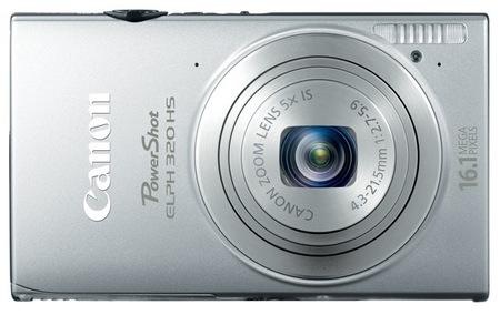 Canon PowerShot ELPH 320 HS Digital Camera silver