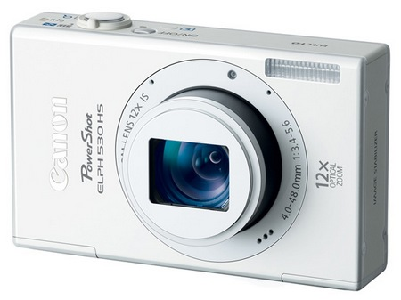 Canon PowerShot ELPH 530 HS Digital Camera white