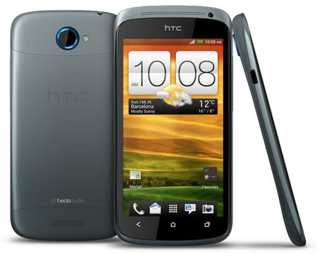 HTC One S Android 4.0 ICS Smartphone Ultra Thin at 7.9mm silver