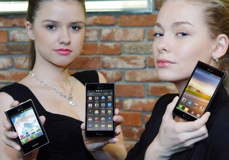 LG Optimus L3, L5 and L7 L-Style Smartphones
