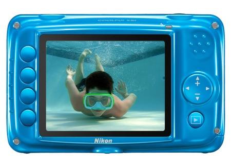 Nikon CoolPix S30 Rugged Digital Camera back