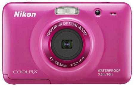 Nikon CoolPix S30 Rugged Digital Camera pink