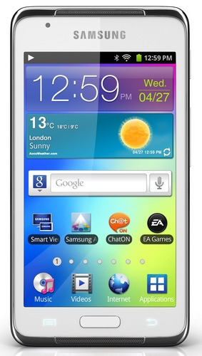 Samsung Galaxy S WiFi 4.2 Android Media Player front