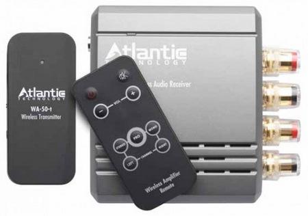 Atlantic Technology WA-5030 Wireless Audio Transmitter Amplifier System