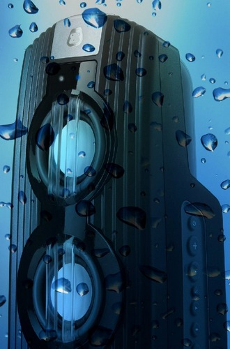 BOOMBANG G-GO Waterproof Bluetooth Speaker water