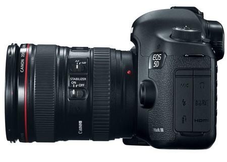 Canon EOS 5D Mark III Digital SLR Camera side