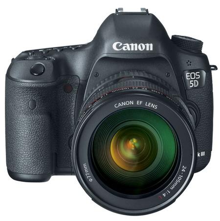 Canon EOS 5D Mark III Digital SLR Camera with lens