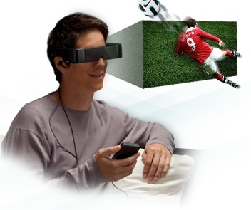 Epson Moverio BT-100 Android See-Through Wearable Display 3d