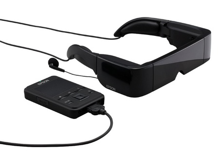 Epson Moverio BT-100 Android See-Through Wearable Display