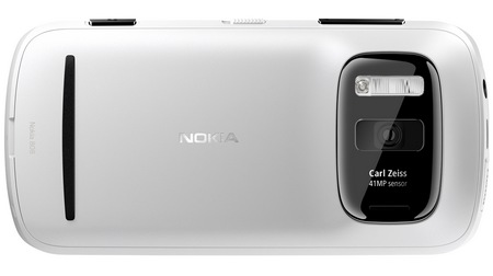 Nokia 808 PureView Smartphone with 41 Megapixel Camera back