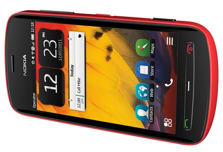 Nokia 808 PureView Smartphone with 41 Megapixel Camera red landscape