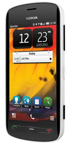 Nokia 808 PureView Smartphone with 41 Megapixel Camera white