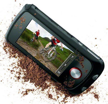 Sony Bloggie Sport HD Rugged 1080p Camcorder display