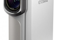Sony Handycam GW55VE Waterproof Full HD Pocket Camcorder white