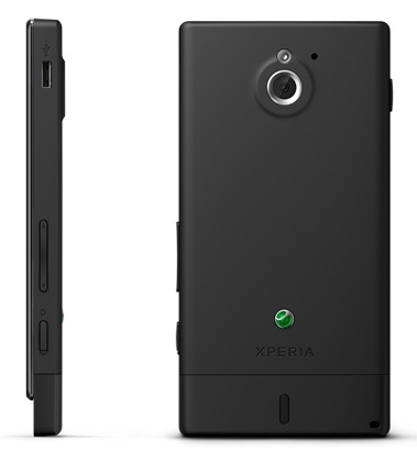 Sony Xperia sola Smartphone with Floating Touch black 1