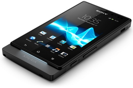 Sony Xperia sola Smartphone with Floating Touch black 2