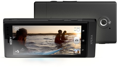 Sony Xperia sola Smartphone with Floating Touch camera