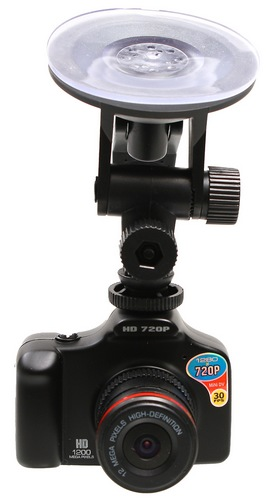 Thanko SUSMDLC1 Palm-sized DSLR-like Camcorder with car mount