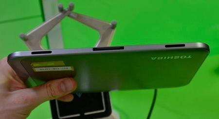 Toshiba AT270 Tegra 3 Quad-core Tablet ports speaker