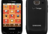 Verizon Samsung Brightside QWERTY Phone front back