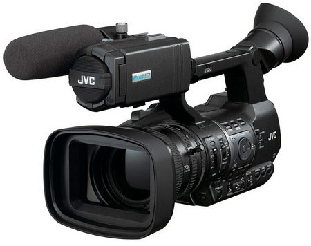 JVC ProHD GY-HM650 Handheld Mobile News Camera
