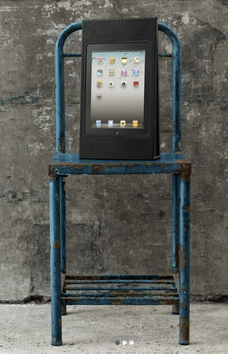 Bang & Olufsen BeoPlay A3 iPad Speaker in use