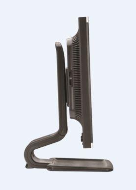 HP Compaq LA2405x 24-inch Full HD LED Display side
