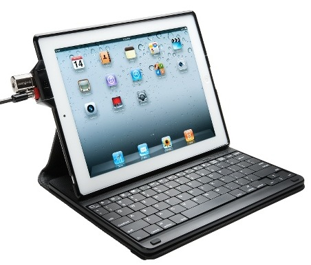 Kensington KeyFolio Secure Keyboard Case and Lock for iPad 2 ClickSafe
