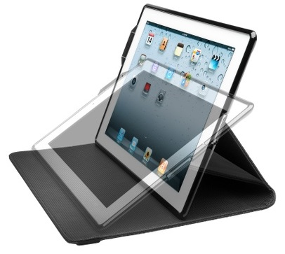 Kensington KeyFolio Secure Keyboard Case and Lock for iPad 2 stand