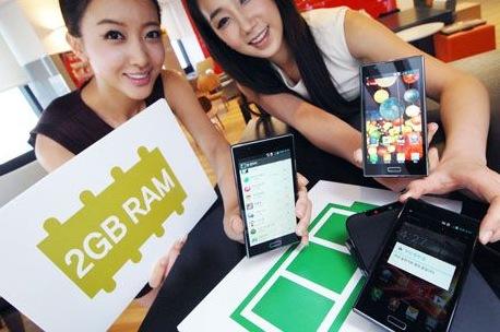 LG Optimus LTE2 Smartphone with 2GB RAM