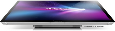 Lenovo IdeaCentre A720 Touchscreen All-in-One PC Folds Flat 2