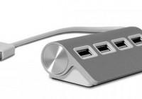 Satechi ST-UHA 4-Port Aluminum USB Hub