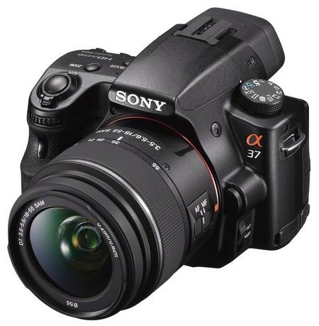 Sony Alpha SLT-A37 Entry-level DSLR Camera 1