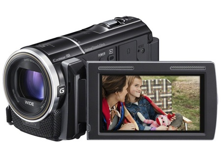 Sony Handycam HDR-PJ260V Camcorder with built-in Projector 1
