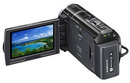 Sony Handycam HDR-PJ260V Camcorder with built-in Projector 3